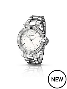 seksy-seksy-silver-tone-dial-stainless-steel-bracelet-ladies-watch