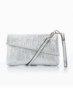 v-by-very-diagonal-envelope-wristletnbsp--silver