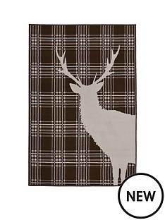 stag-check-rug