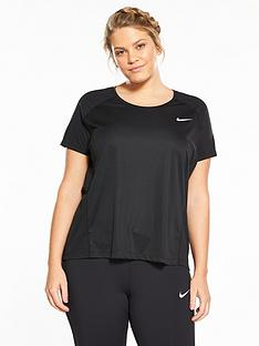 nike-plus-size-dry-miler-top