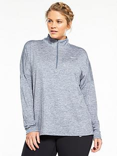 nike-plus-size-dry-12-zip-element-top