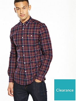farah-ls-check-twill-shirt