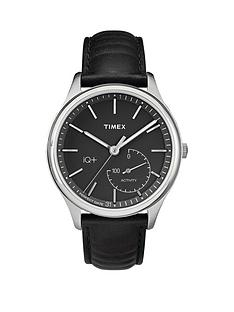 timex-timex-iq-black-dial-black-leather-strap-mens-smart-watch