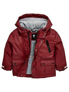mini-v-by-very-mini-v-by-very-boys-hooded-merlot-rubber-jacket