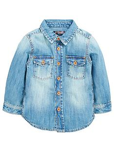 mini-v-by-very-boys-washed-denim-shirt
