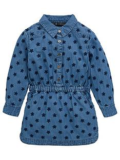mini-v-by-very-girls-chambray-star-embroidered-denim-dress