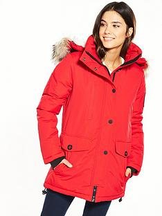 superdry-everest-parka-red