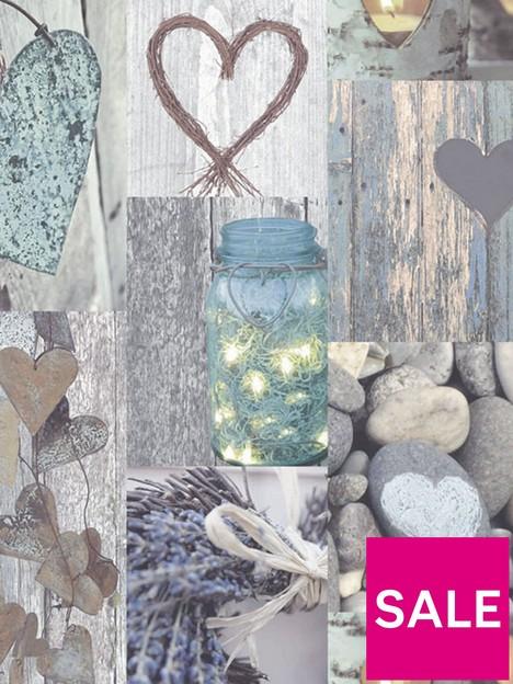 arthouse-rustic-heart-natural-wallpaper