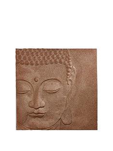 arthouse-copper-glitter-buddha-wall-art