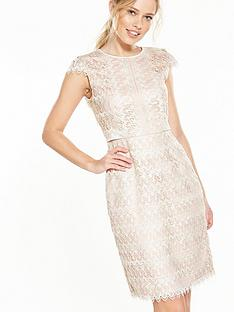 phase-eight-ally-dress-cream