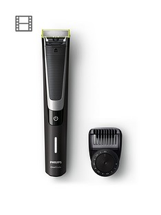 philips-oneblade-pro-hybrid-trimmer-and-shaver-qp651025-with-12-length-comb