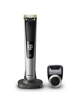 philips-oneblade-pro-hybrid-trimmer-and-shaver-with-14-length-comb-uk-2-pin-bathroom-plug--qp652030