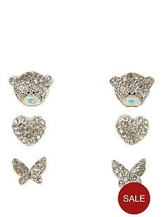 me-to-you-me-to-you-tatty-teddy-silver-plated-set-of-3-heart-butterfly-and-bear-earrings
