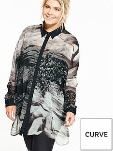religion-curve-print-serene-shirt