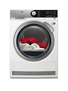aeg-t8dee845r-8000-seriesnbsp8kgnbspload-sensor-tumble-dryer-white