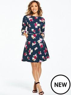 myleene-klass-scoop-back-tea-dress