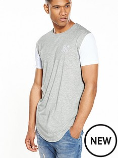 sik-silk-contrast-curved-hem-tshirt