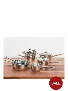 sabichi-copper-base-7-piece-pan-set