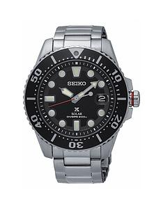 seiko-gents-black-dial-stainless-steel-bracelet-watch