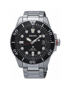 seiko-gents-black-dial-stainless-steel-bracelet-watch