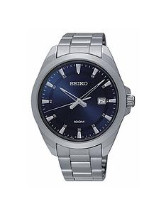 seiko-gents-blue-dial-stainless-steel-bracelet-watch