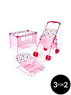 hauck-3-in-1-doll039s-play-amp-care-set