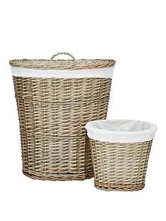 split-willow-laundry-hamper-and-bin-set