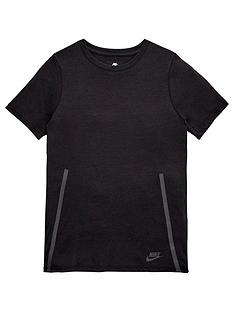 nike-older-boy-short-sleeve-tech-fleece