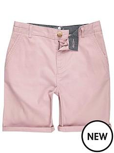 river-island-boys-pink-chino-shorts