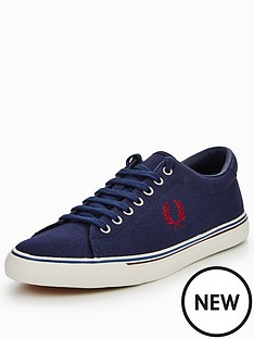 fred-perry-nderspin-canvas-plimsolls