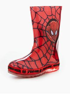 character-spiderman-lights-wellie