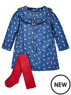 mini-v-by-very-girls-printed-frill-denim-dress-amp-tights-set