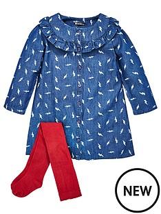 mini-v-by-very-girls-printed-frill-denim-dress-amp-tights-set