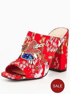 v-by-very-charm-oriental-embellished-mule-red
