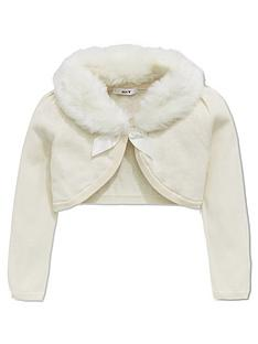 mini-v-by-very-girls-faux-fur-collar-cardigan
