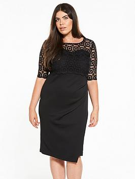 Nicekicks Cheap Price Sale Largest Supplier Dress Layer V Double by Very Lace Curve Pay With Visa For Sale The Cheapest 2tWn3XO