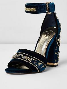 river-island-embellished-block-heel-ankle-strap-sandal