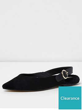 river-island-black-navy-faux-fur-sling-slipper-shoe