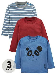 mini-v-by-very-baby-boys-3pk-panda-amp-stripe-tees
