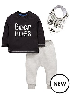 mini-v-by-very-baby-boys-039bear-hugs039-set-with-bib