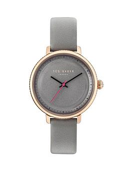 ted-baker-grey-dial-grey-leather-strap-ladies-watch