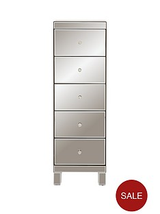 ideal-home-parisian-ready-assembled-tall-mirrored-5-drawer-chest