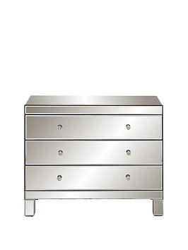 ideal-home-parisian-ready-assembled-wide-3-drawer-chest-in-smoked-mirrors
