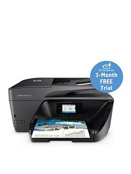 hp officejet pro 6970 all in one printer with optional ink black includes hp instant ink 3. Black Bedroom Furniture Sets. Home Design Ideas