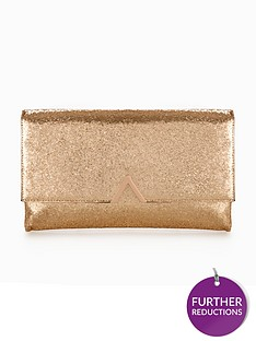 v-by-very-metal-v-bar-tinsel-clutch-bag