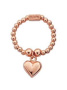 chlobo-chlobo-sterling-silver-rose-gold-mini-puffed-heart-ring
