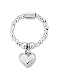 chlobo-chlobo-sterling-silver-mini-puffed-heart-ringnbspfree-silver-bracelet-with-every-chlobo-purchase-over-pound95-limited-time-only