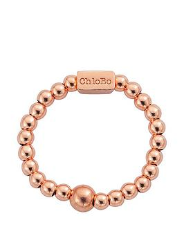 chlobo-sterling-silver-rose-gold-plate-mini-ring