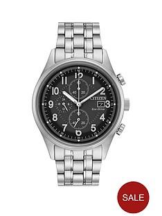 citizen-eco-drive-black-chronograph-dial-stainless-steel-bracelet-mens-watch