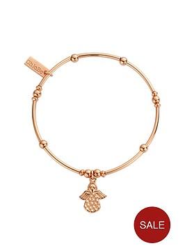 chlobo-sterling-silver-rose-gold-plate-mini-noodle-ball-made-for-an-angel-bracelet